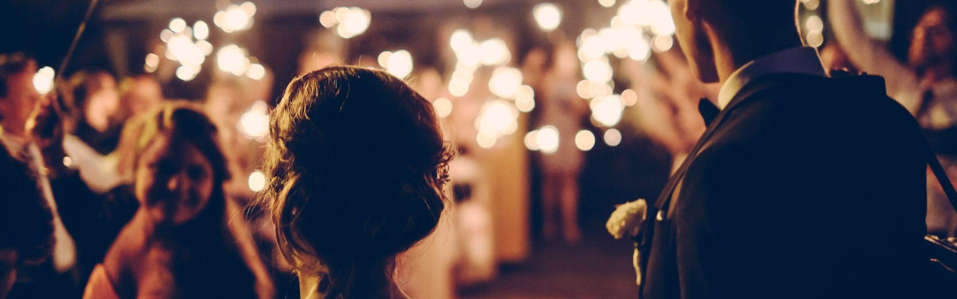 Adornos para boda al aire libre